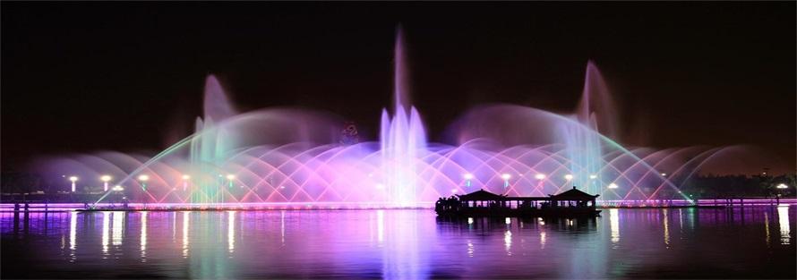 国家4A级景区音乐喷泉设计