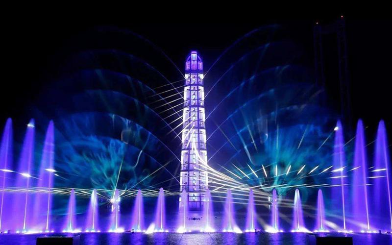 水景喷泉设计之大型水舞