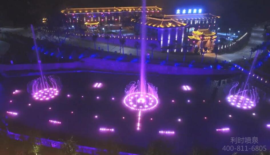 陕西大水川4A景区音乐喷泉